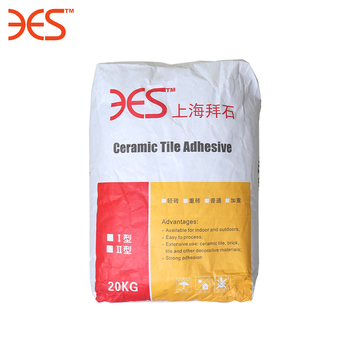Construction Chemicals Grey Powder Type Cement based Tile Adhesive