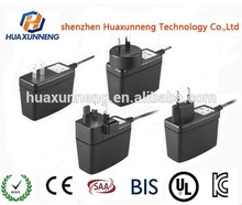 24V 1.5A Wall mounted adapter Switching power supply with CE ROHS REACH FCC ERP CB GS TUV CCC PSE approval