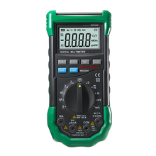 Mastech MS8268 Digital Multimeter Auto Ranging DMM Sound/Light Alarms Resettable Fuse Capacitance Frequency Measurement Detector