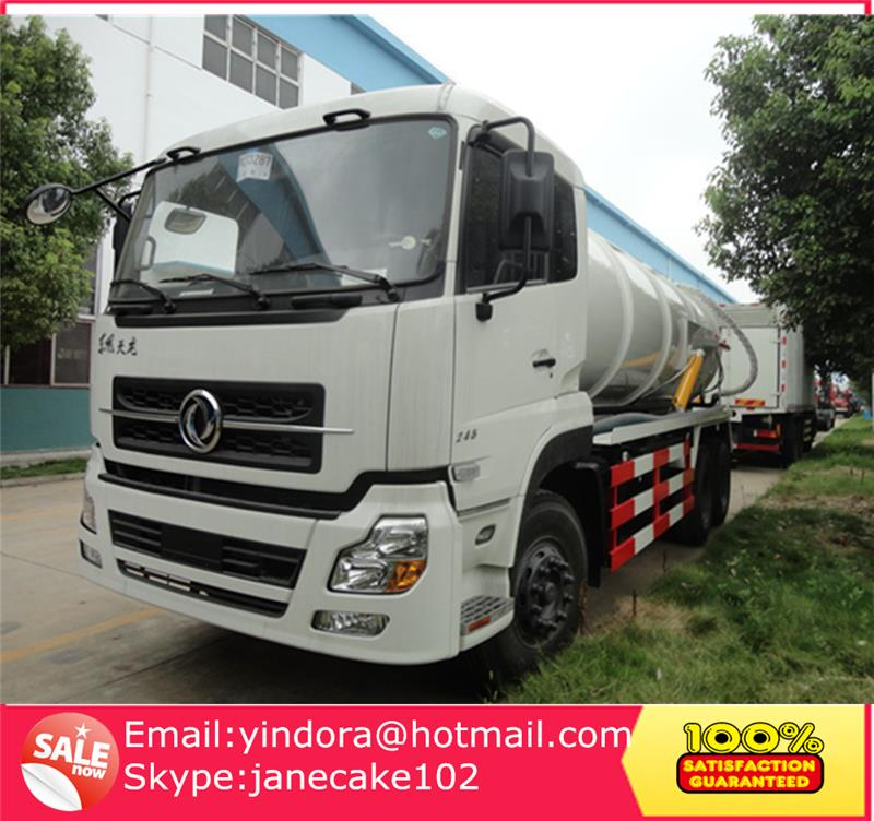 New design 16 cubic meters sewage suction tanker truck, sewage trucks for sale, sewage pump truck