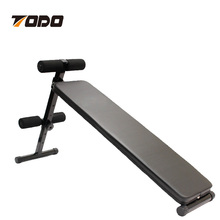 Indoor Abdominal Exercise Curved Workout Sit Up AB Bench