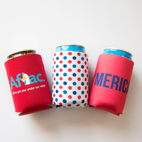 Neoprene custom printed coffee bottle sleeves