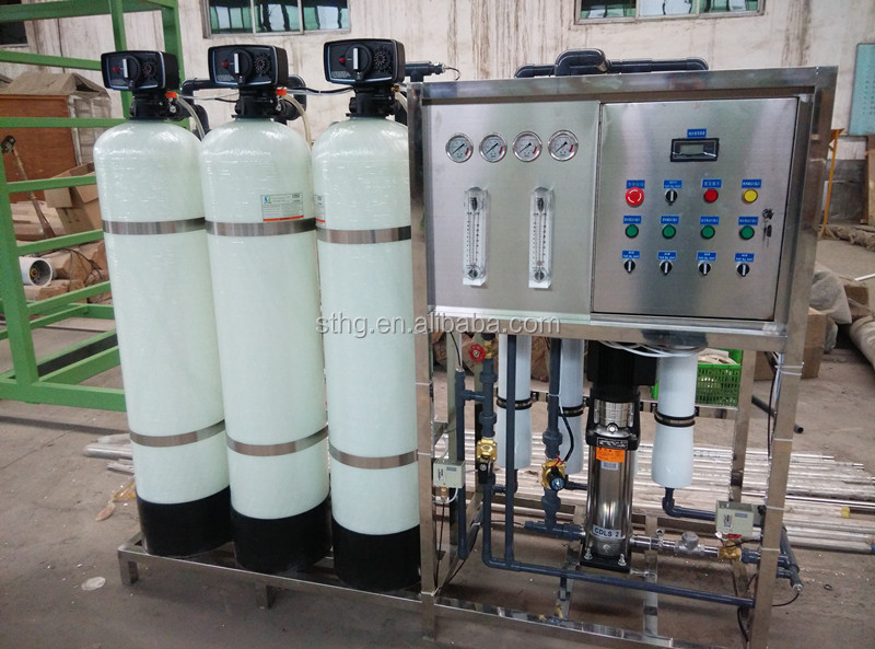 1000l Packaged Drinking Water Treatment Plant Swimming Pool Filtration Plant Mineral Water Plant