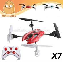 2014 new products micro drone SYMA X7 4 Channel 6 aixs RC 2.4G Eversion Quad helicopter