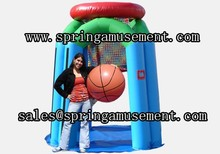 new design interesting inflatable basketball games for sale sp-sp084