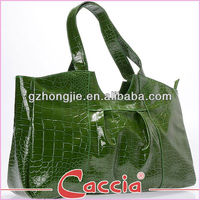 Large high end crocodile handbag for lady