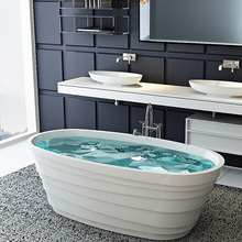 Europe bath tub, Artistic Stone Resin Bath Tub, Very Beautiful Tubs BS-8631