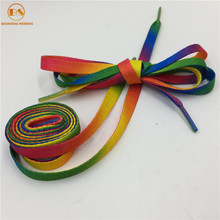 Custom Cheap Rainbow Shoelaces Belt For Sneakers