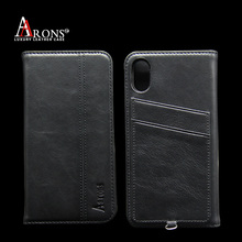 Fancy wallet leather mobile phone case for iphone 8 waterprrof case cover