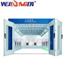 Customized high quality auto furniture paint spray booth price