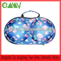 Ladies protable protect EVA lingerie bra travel case underwear travel box
