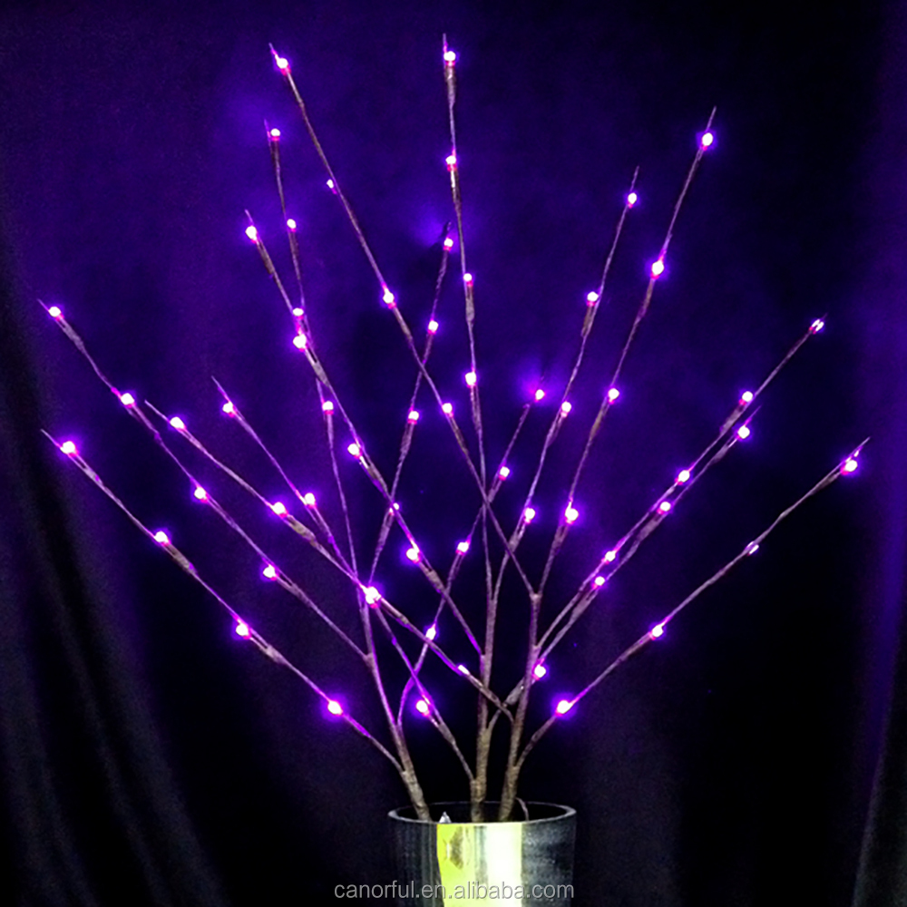 Christmas decoration firework outdoor decor led tree light led copper wire string light