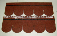 roof tile-5-tab architectural colorful asphalt shingles/roof tiles