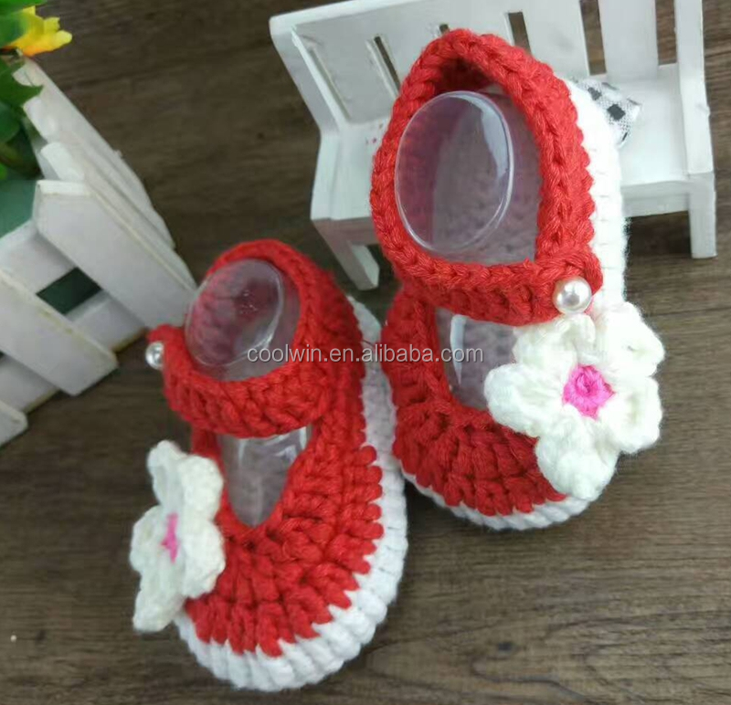 coolwin 2017fashion shoes,crochet baby shoes, custom summer shoes, crochet girls shoes
