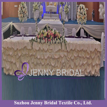 TC001M table skirting designs scuba table skirting for wedding materials in table skirting
