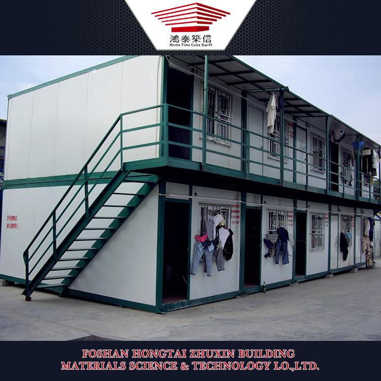 Cina a due piani casa prefabbricata del contenitore cabina for Cabina a 2 piani