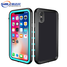 Waterproof hybrid for iphone x case,waterproof mobile phone cases for iphone x,waterproof pc tpu back case for iphone x