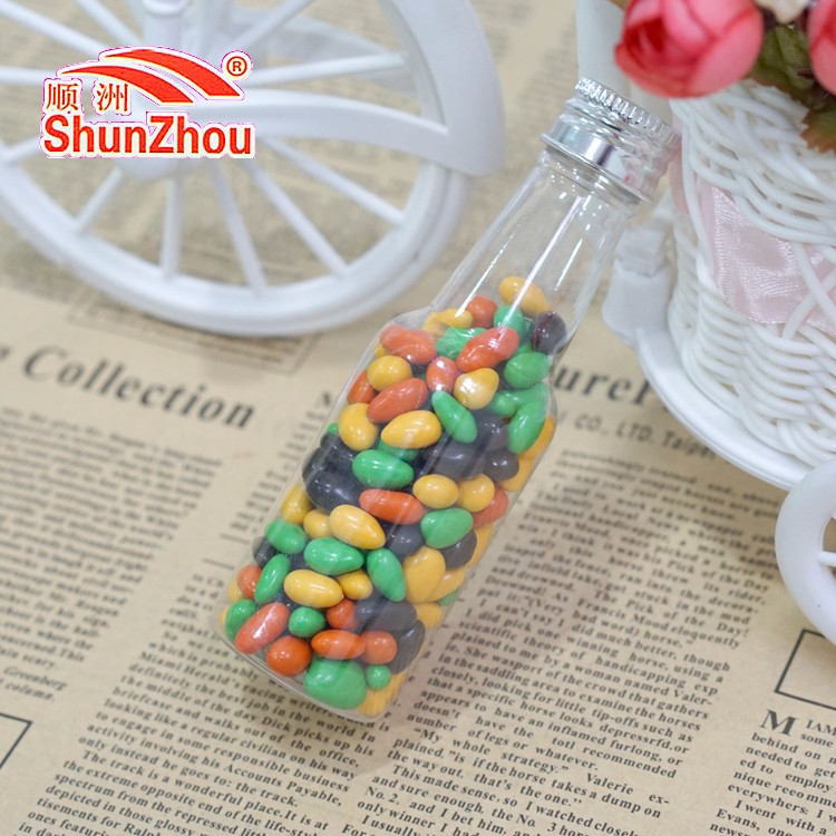 45g small cola bottle colorful sweet crispy chocolate coated sunflower beans