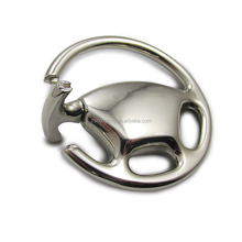 steering wheel car keychain 3D metal kering