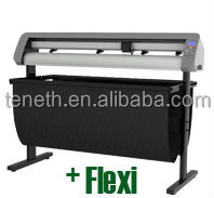 "High Cutting Pressure/High Mechanical Resolutio Teneth 48"" Contour Cutting Vinyl Cutter Plotter With Servo Motor"