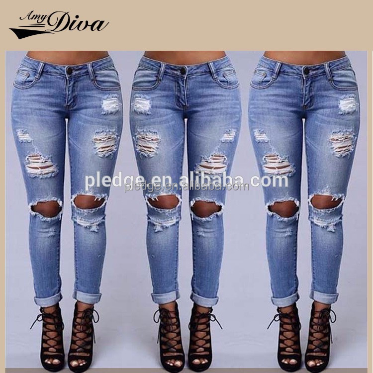 2016 classical new style high waist picture woman usa sex sex women jeans