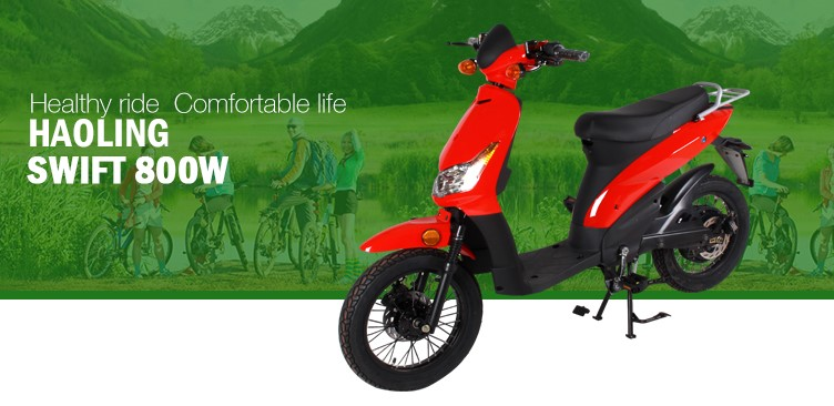 Swift lithium ion battery 48v/16ah 350w electric scooter