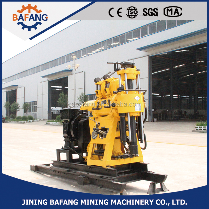 Borehole water well drilling machine