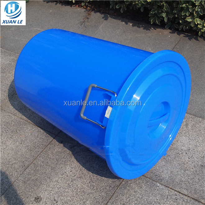 Manufacturer 55 gallon plastic drum with lid factory
