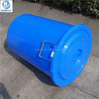 Widely used 55 gallon plastic drum with big size