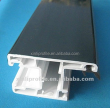 PVC square tube/white upvc window profile/pvc profile for window and door