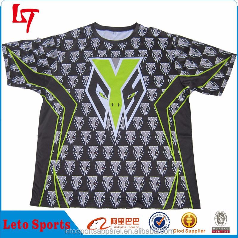 sportswear Short Sleeve OEM Logo Dry Fit dry fit design your own sports