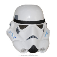 X-MERRY White stormtrooper helmet Style Halmet Party Cosplay Light latex Full Face Mask for Halloween Party Decoration