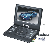 13.8 inch high quality cheap portable dvd player with analog tv