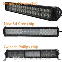 Super power 52 inch dual row led light bar 288w led light bar for 4x4 Offroad truck