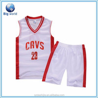 Polyester Basketball Uniforms/Sublimation Basketball Uniforms/Basketball Jersey