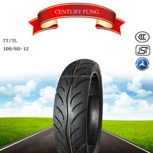 china motorcycle tire and tube 100/60-12 high quality scooter tire