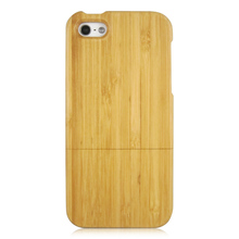 Unique Custom Design LOGO Wood Bamboo Wooden Phone Case For iPhone 5 5S SE 5C