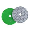Soft polishing Diamond dry polish pads granite