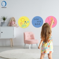 WSR-M1-7 Premium dry erase kids wall decor removable wall decoration for kids room