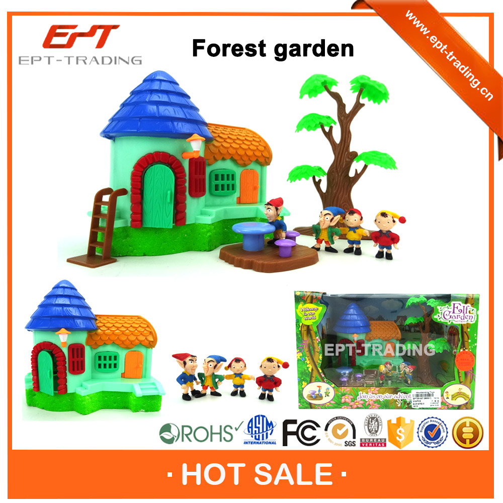 Brand new kids plastic mini toy house for sale