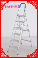 supply domestic ladder of aluminum BF-126 6steps using indoor