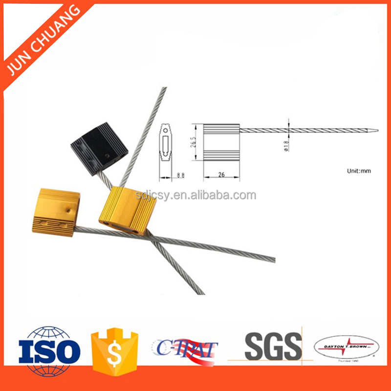 JC-CS102 Pull tight fuel tank cable security seal