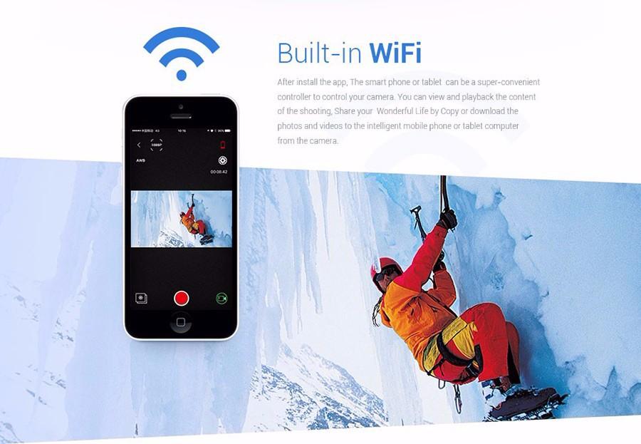 Factory Price Newest Camcorder Full HD 4k Camera Eken H8R Remote Control Action Camera Original Eken H8R Sports
