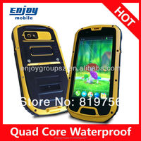 smart phone 4.3' Quad Core 3G wifi GPS IP68 Rugged Android ip67 with made-in-india-mobile-phone
