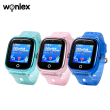 Wonlex gps child tracking bracelet smart watch with mobile phone