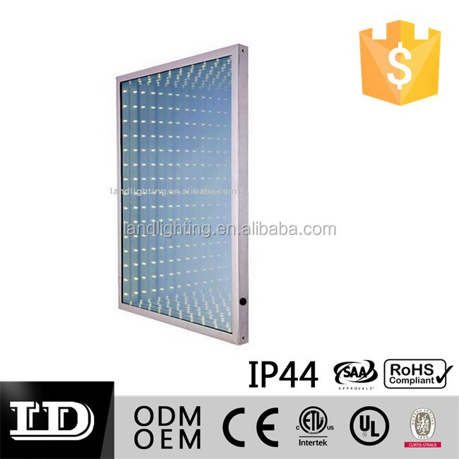 LED infinity bathroom wall mirror with 3D effect UL ETL CE lists