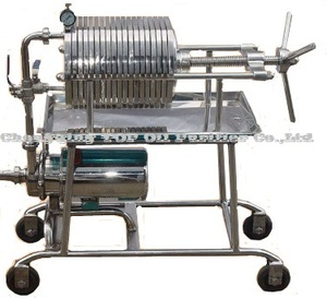 Portable Stainless Steel Food Grade Cooking Oil Filter Press/Edible Oil Filter Pressure Machine/High Pressure Oil Filter