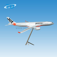 large scale big size Jetstar A320 120cm air plane resin model kit