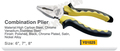 Y01025 hand tools combination plier