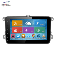 10.2 inch 2 din double din android car stereo with gps navigations specially for vw jetta cars